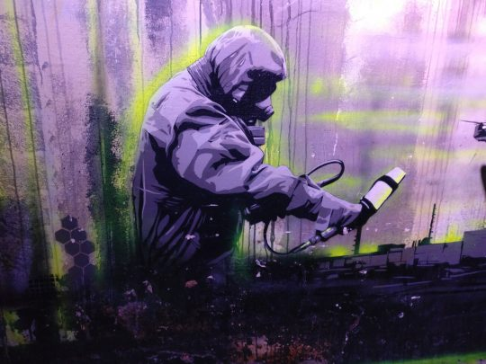 The surreal street art of Plotbot Ken